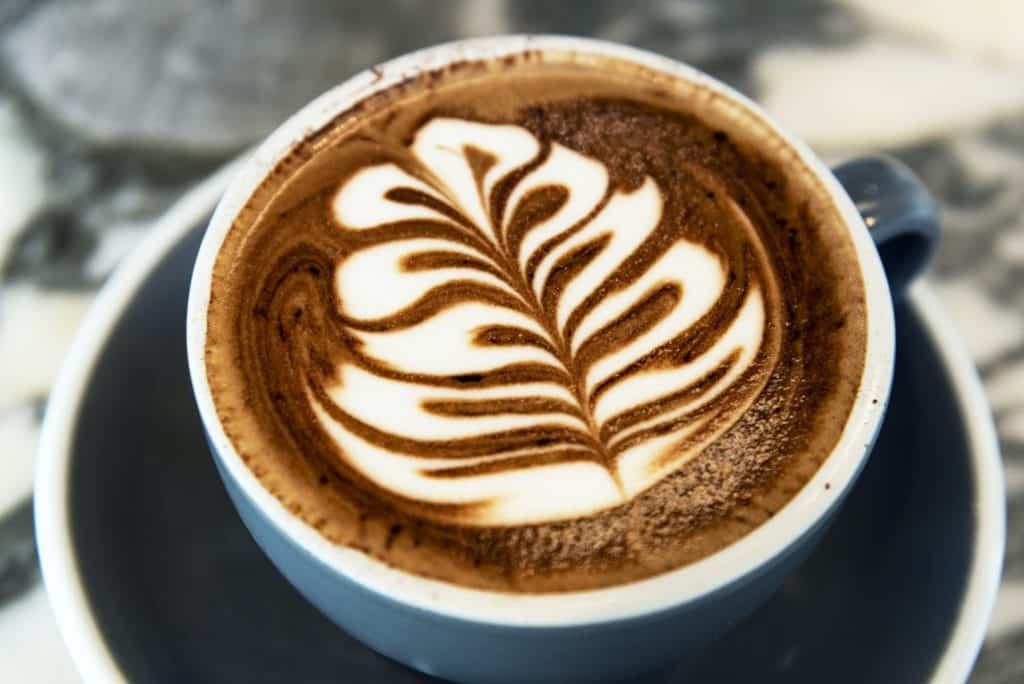 Kaffee-Latte-Kunst